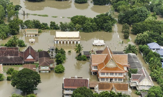 nat cat asia flood