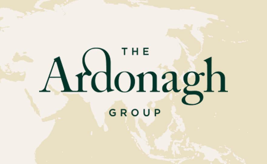 Ardonagh logo on Asia background